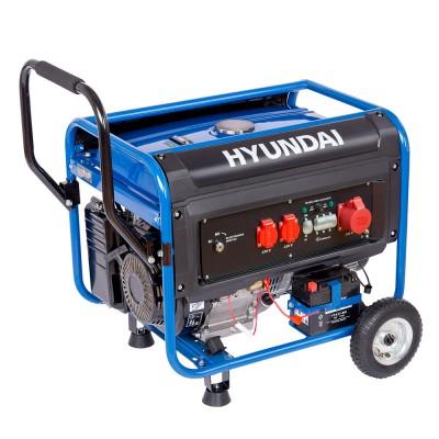 Hyundai HYD-G-5500W  230/400V Önindítós áramfejlesztő