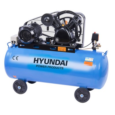 Hyundai HYD-200L/V2, 10bar, 380V/4000W Olajos Kompresszor