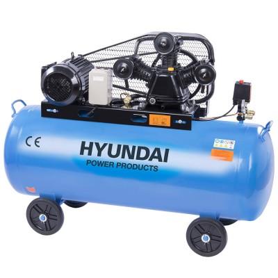 Hyundai HYD-100L/V3F, 10bar, 380V/3000W Olajos Kompresszor
