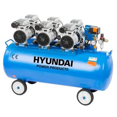 Hyundai HYD-100F, 8bar Csendes Olajmentes Kompresszor
