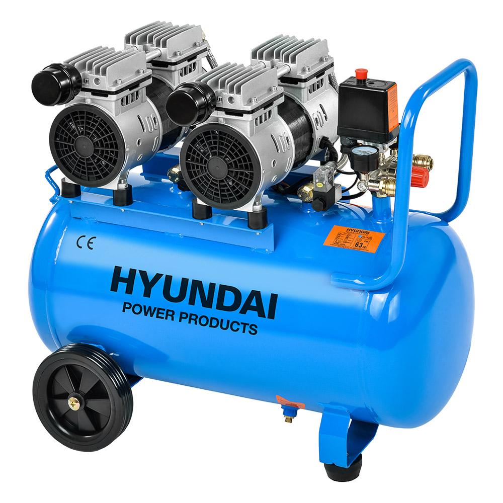 Hyundai HYD-50F, 8bar  Csendes Olajmentes Kompresszor