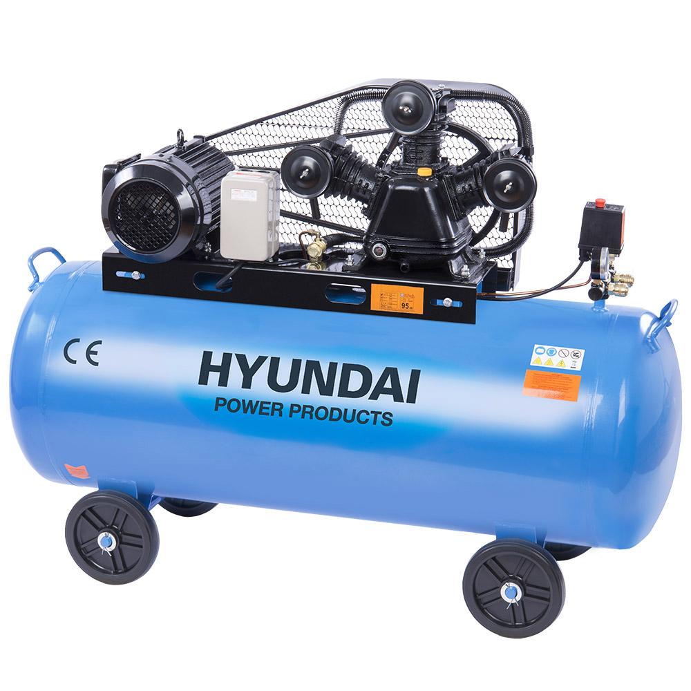 Hyundai HYD-200L/V3, 12.5bar,380V/3000W Olajos Kompresszor